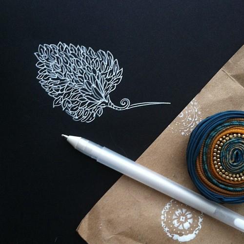 Ручки для узорами